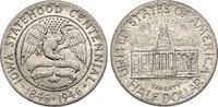 1/2 Dollar 1946 USA Half Dollar - Iowa st, feine Patina  110,00 EUR  +  6,50 EUR shipping