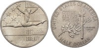 1/2 Dollar 1992 P USA Half Dollar - Olympiade st, patiniert  7,00 EUR  +  6,50 EUR shipping