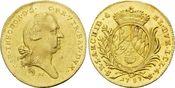 Dukat 1787 Bayern, Karl Theodor, 1777-1799, vz-st