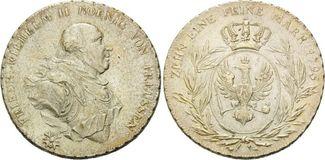 Taler 1795 Brandenburg-Preussen Friedrich Wilhelm II., 1786-1797 f.vz