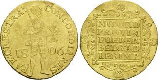 Königreich Holland, Dukat 1806, ss+ Ludwig Napoleo