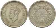 Rupie 1944 Britisch Indien, George VI., 19...