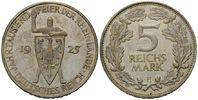 5 Mark 1925 E Weimarer Republik, Rheinland...