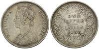 Rupie 1888 Britisch-Indien, Victoria, 1837...