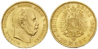 10 Mark 1874 A Preussen, Wilhelm I., 1861-...