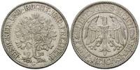 5 RM 1932 G, Weimarer Republik, Eichbaum, vz+
