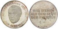 Medaille o.J., BRD, KONRAD ADENAUER, 1876-...