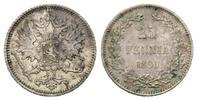 25 Penniä 1890 Finnland, Alexander III. 18...