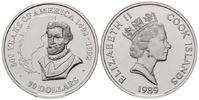 50 Dollars 1989 Cook Islands, Magellan, PP