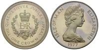Crown 1977 Isle of Man, 25. Jahrestag der ...