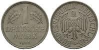 1 Mark 1963 D BRD, Kursmünze, bankfr.