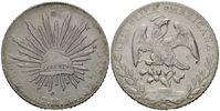 8 Reales 1887 Mexiko, China, chinesische P...
