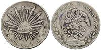 8 Reales 1892 Mexiko, China, chinesische P...