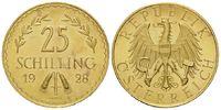 25 Schilling 1928 Österreich, Erste Republ...