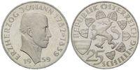25 Schilling 1959 Österreich, Erzherzog Jo...