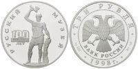 3 Rubel 1998 Russland, 100 Jahre Russische...