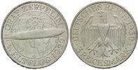3 Mark 1903 G, Weimarer Republik, Zeppelin...