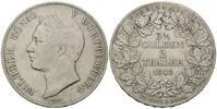 Doppeltaler 1843, Württemberg, Wilhelm I., 1816-1864, ss  350,00 EUR  +  9,90 EUR shipping