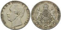 Vereinstaler 1866 B Hannover, Georg V., 18...