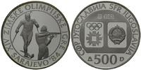 500 Dinar 1983 Jugoslawien, Olympiade Sara...