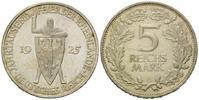 5 Mark 1925 F Weimarer Republik, Rheinland...