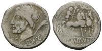 AR Denar (87 v.Chr.) Röm. Republik, L. und...
