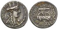 AR Denar (67 v.Chr.) Röm. Republik, M. Pla...