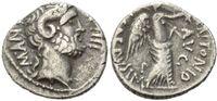 AR Denar (31 v.Chr), Röm. Republik, L. Pin...
