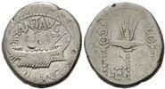 AR Denar (32-31 v.Ch Röm. Republik, Marc A...