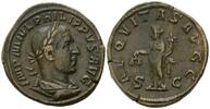 AE Sesterz, Rom,  Röm. Reich, Philipp I., ...