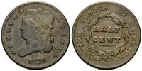 1/2 Cent 1829, USA, Classic Head, ss