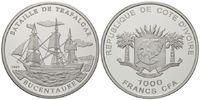 1000 Francs 2007 Elfenbeinküste, Bucentaur...