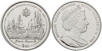 10 Dollars 2005, Britische Jungferninseln,...