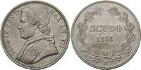 Scudo 1853 R, Rom Vatikan, Pius IX., 1846-...