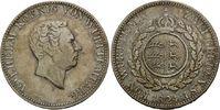 Doppelgulden 1824, Württemberg, Wilhelm I., 1816 - 1864, ss+  595,00 EUR  +  19,50 EUR shipping
