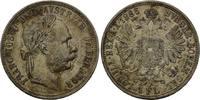Florin 1886 Österreich, Franz Joseph I., 1...