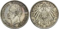 2 Mark 1892 Sachsen-Weimar-Eisenach, Carl ...
