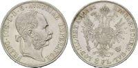 Doppelgulden 1891, Haus Habsburg, Franz Jo...