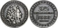 Silbermed. 1997 Hamburg, 352 Jahre Wilhelm...