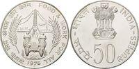 50 Rupien 1976 Indien, FAO, st