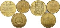 10 Mark 1989; 5 Mark 1980; Medaille  DDR, ...