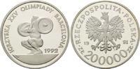200000 Zloty 1991, Polen, Olympische Spiel...