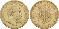 10 Mark 1888 A Hessen, Ludwig IV., 1877-18...
