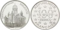 100 Francs / 15 Euro 1997, Frankreich, Nik...