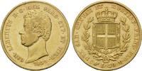20 Lire 1839, Italien, Sardinien, Carlo Al...
