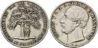 Taler 1865 Hannover, Georg V., 1851-1866, ...