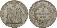 5 Francs 1876 A, Frankreich, Dritte Republ...