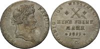 Konventionstaler 1811, Westfalen, Hieronymus Napoleon, 1807-1813, ss+  415,00 EUR  +  9,90 EUR shipping