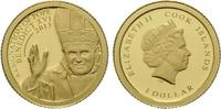 Dollar 2013 Cook Islands, Benedikt XVI., E...