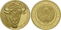 50 Rubel 2012 Weißrussland, Bison mit Diam...